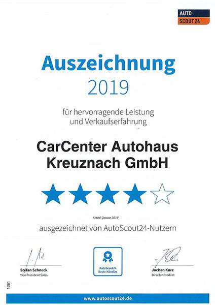 autoscout zertifikat